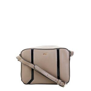 Bolsa Gash Mini Bag Recortes Feminina - Cinza + Frete grátis