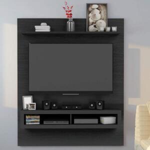 [APP] Painel TV até 60 Polegadas Magno Siena Móveis - Preto | R$169