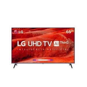 """Smart TV LED 65"""" LG UM7520 65UM7520 R$ 2999"""