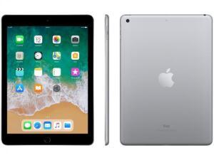 Apple iPad 6 (128GB, Wi-Fi, Cinza e Prata)