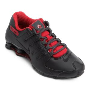 Tênis Nike Shox Nz Se - Preto e Vermelho R$350