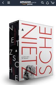 Grandes obras de Nietzsche Conjunto de caixa