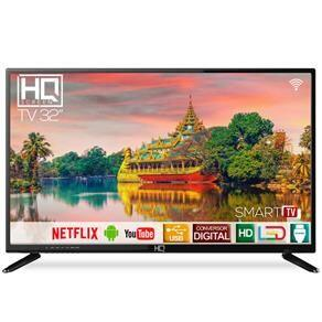 "Smart Tv led 32"" HQ HD HQSTV32N Netflix YouTube 2 HDMI 2 USB Wi-Fi"