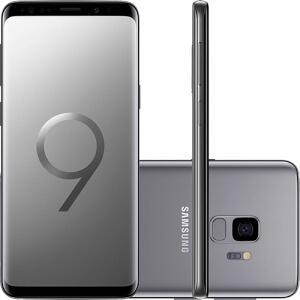 "(Sem juros) Smartphone Samsung Galaxy S9 Dual Chip Android 8.0 Tela 5.8"" Octa-Core 2.8GHz"
