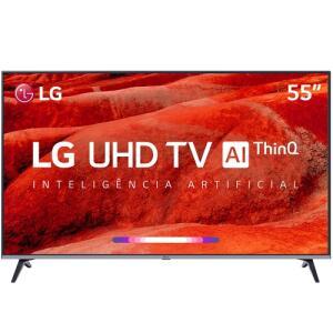 "[CC Sub + AME 15% ]Smart TV LED 55"" LG 55UM7520PSB UHD R$ 2099"