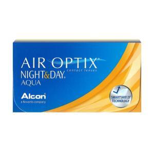 Lentes de Contato Air Optix Aqua Night & Day Miopia/Hipermetropia | R$142