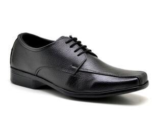 Sapato Social Masculino Derby Polo State Tradicionally Preto R$60