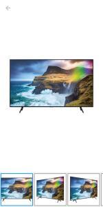 "QLED TV UHD 4K 2019 Q70 55"", Pontos Quânticos, Direct Full Array 4x, HDR1000, Modo Ambiente - Preto - Samsung"