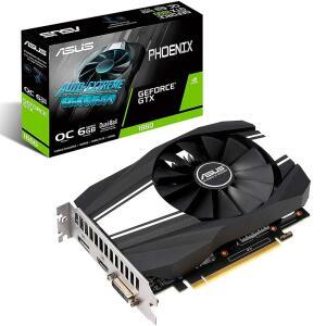Placa de Vídeo Asus Phoenix NVIDIA GeForce GTX 1660 6GB, GDDR5 - PH-GTX1660-O6G