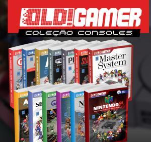 Coleção 20 livros OLD!Gamer
