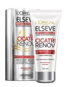 Leave In Reparador L'Oréal Paris Elseve Cicatri Renov 50ml (Frete grátis)