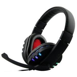 Fone De Ouvido Headset Gamer USB Pc Ps4 Ps3 Notebook Boas - R$40