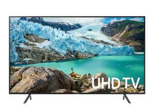 """Smart TV LED 75"""" UHD 4K Samsung 75RU7100 com Controle Remoto Único, Visual Livre de Cabos, Bluetooth, HDR Premium, HDMI e USB"""