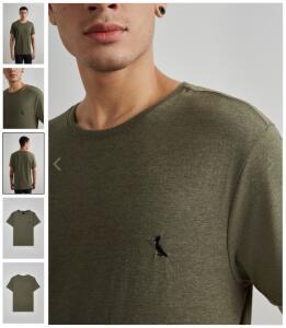 Camiseta Mescla Paris Reserva por 1 REAL!!!