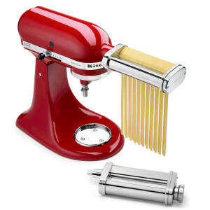 Kit Batedeira Stand Mixer + Set Pasta Fettuccine KitchenAid - R$1.299