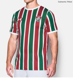 Camisa Fluminense FC Oficial 17/18 Masculina P R$ 40