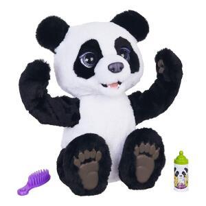 Brinquedo pelúcia Panda FurReal Plum