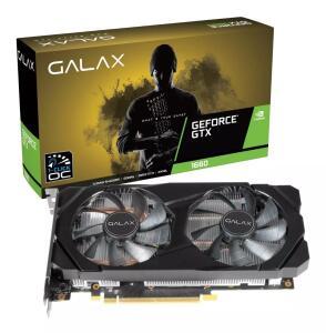 Placa De Vídeo Galax Gtx 1660 Oc One Click 6gb Ddr5 192 Bits R$1199