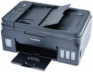 [Prime]Impressora Multifuncional, Canon, Mega Tank G4100, Tanque de Tinta, Wi-Fi