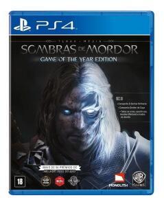 Terra-média: Sombras de Mordor - Edição Jogo do Ano PS4