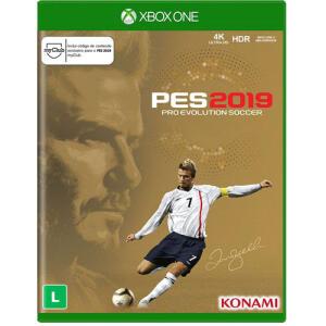 (R$24 com Ame) Game Game Pro Evolution Soccer 2019 David Beckham Edition - XBOX ONE