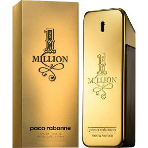 [CC + AME] Perfume Paco Rabanne 1 Million Masculino Eau de Toilette 200ml