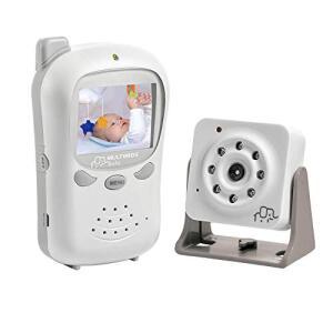 Babá Eletrônica Digital com Câmera BB126, Multikids Baby, Branco, Bivolt R$ 299