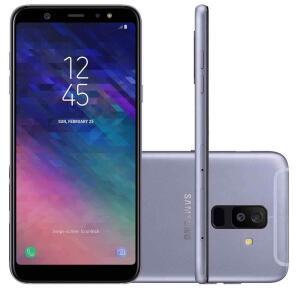 "Smartphone Samsung Galaxy A6+ Dual Chip Android 8.0 Tela 6"" 64GB Dual Câmera 16MP + 5MP Octa-Core 1.8GHz 4G R$999"