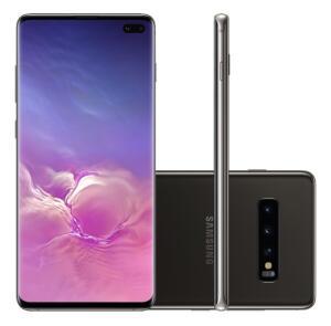 [R$ 3743 AME] Samsung Galaxy S10+ (PLUS) 1TB - Ceramic Preto