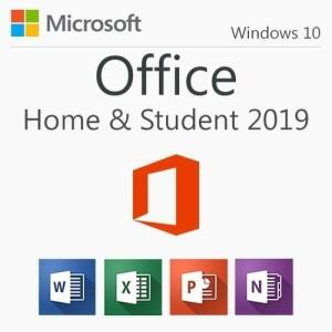 Suite de Aplicativos Ms Office 2019 Home & Student. Para sistema Win 10. Para 1 PC.