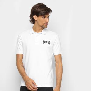 Camisa Polo Everlast Masculina - Branco
