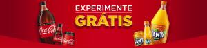 [Somente algumas lojas da Bahia e Ceará] Experimente grátis Coca-Cola
