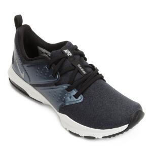 Tênis Nike Air Bella Tr Premium Feminino - Preto e Prata | R$130