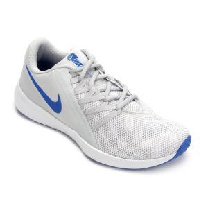 Tênis Nike Varsity Compete Trainer Masculino - Off White e Azul   R$130