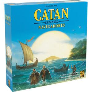 Jogo Catan - Expansão Navegadores - Grow | R$117