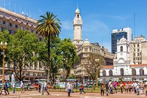 Buenos Aires e Montevideo, saindo de São Paulo, por R$1.188