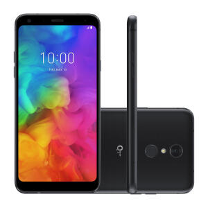 Smartphone LG Q7+ 64GB Preto | R$609
