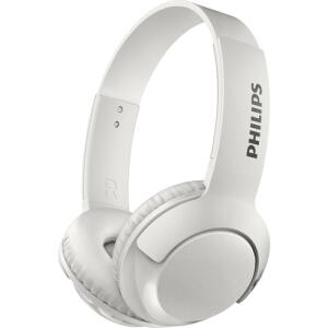 Fone de Ouvido Philips Bluetooth Branco Sem Fio Shb3075wt/00 Bass+ On Ear - Branco | R$117