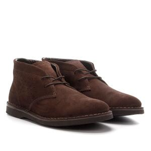 Sapato Casual Couro Kildare Filey Camurça - Café R$84