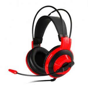 HEADSET GAMER MSI DS501 PRETO/VERMELHO, DS501 R$49