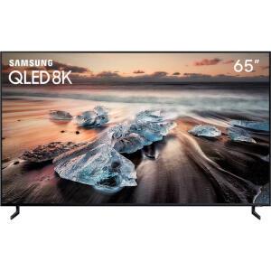 "Smart TV 8K QLED 65"" Samsung IA Upscaling Direct Full Array16x Pontos Quânticos - 10x S/Juros"