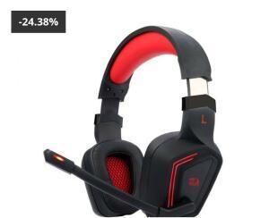 HEADSET GAMER REDRAGON MUSES AUDIO 7.1 USB, H310 - R$140
