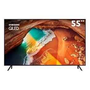 "Smart TV QLED 55"" UHD 4K Samsung 55Q60 - R$2999"