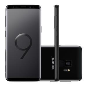 "[CashBack R$ 575] Smartphone Samsung Galaxy S9 128GB Preto Tela 5.8"" Câmera 12MP Android 8.0   R$ 1919"
