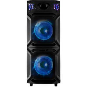 Caixa Acústica Philco Bluetooth Flash Lights Função Ex Bass 1500 Wrms Pcx15000 – R$882 Preto