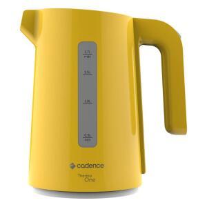 Chaleira Elétrica Cadence Colors CEL384 1,7L Amarela - R$47