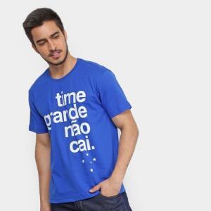 Camisa do Cruzeiro - Time grande não cai!