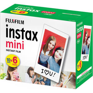 Filme Instax Fuji 60 poses