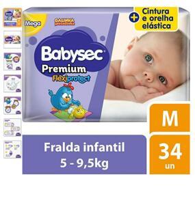 Fraldas BABYSEC PREMIUM
