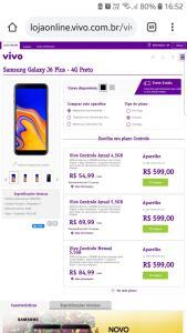Samsung Galaxy J6+ (VIVO)